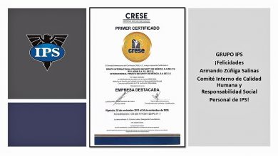 Photo of Grupo IPS recibe certificado CRESE