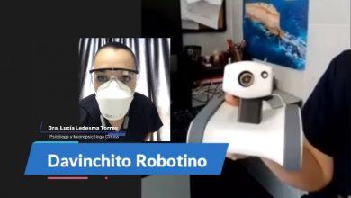 Photo of 'Davinchito' y 'Robotina Covidia' junto a 'Harley' apoyan contra el COVID-19
