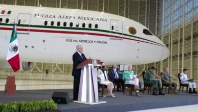 Photo of Abren puertas del avión presidencial para evidenciar lujos