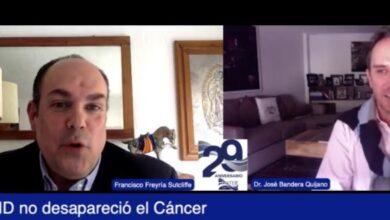 """Photo of """"El COVID no desapareció al cáncer"""""""