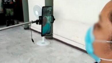 Photo of Una videollamada devuelve la esperanza a paciente de COVID-19