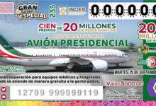 Photo of Se ha vendido el 69.65% de los billetes para la rifa del valor comercial del avión presidencial.